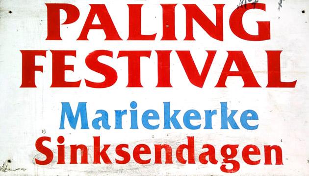 Plakkaat Palingfestival